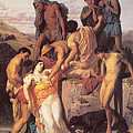 Zenobia Found By Shepherds by William Bouguereau