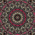 Zentangle No. 7 Kaleidoscope by Joy McKenzie