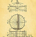 Zeppelin Navigable Balloon Patent Art 2 1899 by Ian Monk