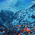 Zermatt - Winter's Night by Brian Jannsen