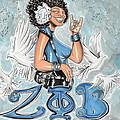 Zeta Phi Beta Sorority Inc by Tu-Kwon Thomas