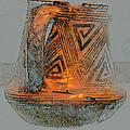 Zigzag Mug With Handle by David Lee Thompson