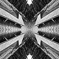 Zigzag Pier Illusion D by Yevgeni Kacnelson