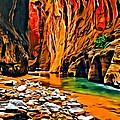 Zion Canyon by Florian Rodarte