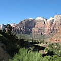 Zion Canyon View by Christiane Schulze Art And Photography