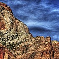 Zion Face 695 by Jerry Sodorff