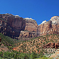 Zion National Park 3 by Nancy L Marshall