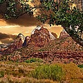 Zion National Park Work Of Art  by Lanis Rossi