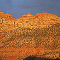 Zion Sunset Panorama by Susan Rovira