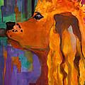 Zippy Dog Art by Blenda Studio
