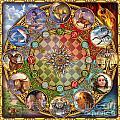 Zodiac Mandala by Ciro Marchetti