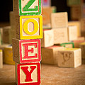 Zoey - Alphabet Blocks by Edward Fielding