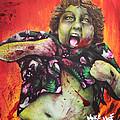 Zombie Chunk by Michael Vanderhoof
