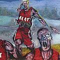 Zombie Heat by Chuck  Hicks