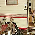 Skeleton Family Vacation by Donna Wilson