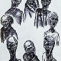 Zombies by Michael  TMAD Finney