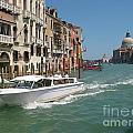 Zooming On The Canals Of Venice by John Malone