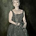Zsazsa Gabor In The 1950's by Angela Stanton