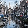 Zuiderkerk Amsterdam by Ann Garrett