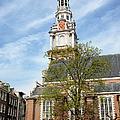 Zuiderkerk In Amsterdam by Artur Bogacki