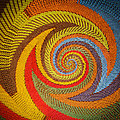 Zulu Basket Detail  by Christy Usilton
