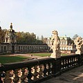 Zwinger Courtyard  Dresden  by Christiane Schulze Art And Photography