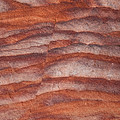 A Close View The Layered Sandstone by Taylor S. Kennedy