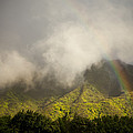 A Rainbow Shines Over The Rugged by Taylor S. Kennedy