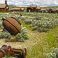 Bodie Ghost Town - 01 by Gregory Dyer