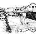 Canal Ellenville by Monica Cohen