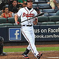 Chipper Jones by Curtis Brackett