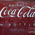 Coca Cola Memorbelia by Bob Christopher