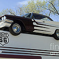 Route 66 De Soto  by Bob Christopher