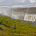 Detifoss Waterfall In Iceland - 02 by Gregory Dyer