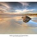 Dusk On The Beach by Beverly Cash