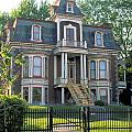 Gracious Victorian House In Montreal by Carl Purcell