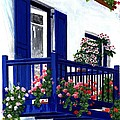 Greek Isles - Mykonos by Rita Hiotis