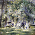 In The Park At Saint-cloud by Pierre Auguste Renoir