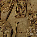 Karnak Egypt Hieroglyphics by Bob Christopher