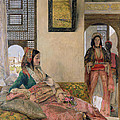 Life In The Harem - Cairo by John Frederick Lewis