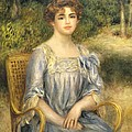 Madame Gaston Bernheim De Villers  by Pierre Auguste Renoir