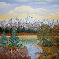 Mountain Fall by Georgeta  Blanaru
