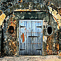 Old Wooden Doors by Perry Webster