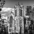 Park Slope Church In Bandw by Val Black Russian Tourchin