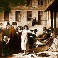 Pitie-salpetriere Hospital, 1795 by Photo Researchers