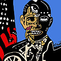 President Barack-obama Full Color by Kamoni Khem
