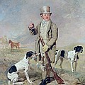 Richard Prince With Damon - The Late Colonel Mellish's Pointer by Benjamin Marshall