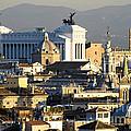Rome's Rooftops by Fabrizio Troiani
