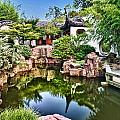 Second Pond In Nyc Secret Garden by Val Black Russian Tourchin