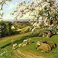 Spring - One Of A Set Of The Four Seasons  by Arthur Walker Redgate